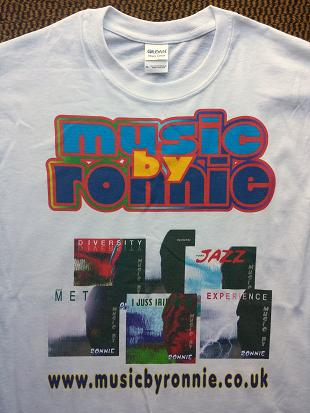 Musicbyronnie t shirt